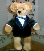 [Honey Bear with Tux and Glasses]